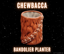 Load image into Gallery viewer, Chewbacca Bandolier Planter