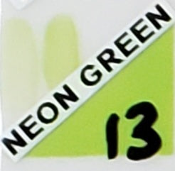 Neon Green Pottery Glaze 13