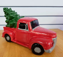 Load image into Gallery viewer, Vintage Truck with Tree Light-Up