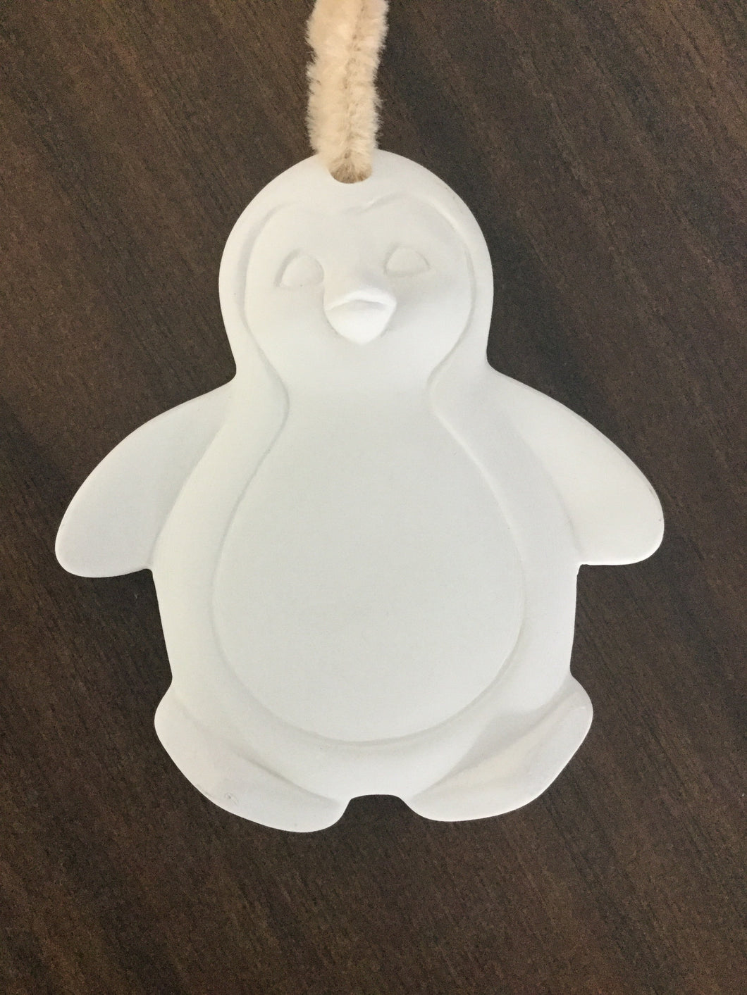 Flat Penguin Ornament
