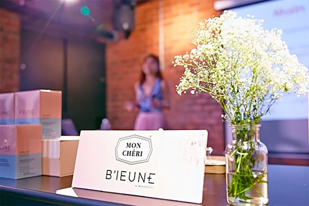 B'IEUNE's Launch Event Coverage on iFeel