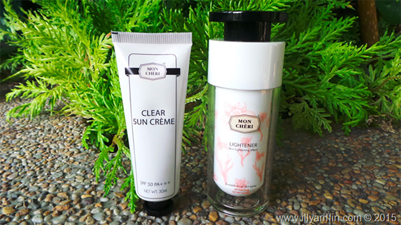 Mon Cheri Essentials Lightener and Sun Creme Review From Illy Ariffin