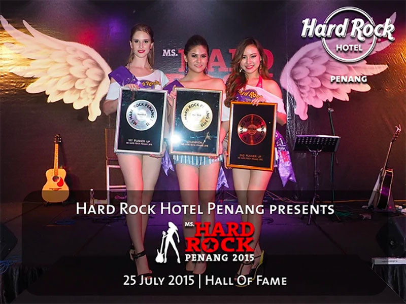 "Mon Cheri Sponsors ""Ms Hard Rock Penang 2015"" event at Hard Rock Hotel Penang"