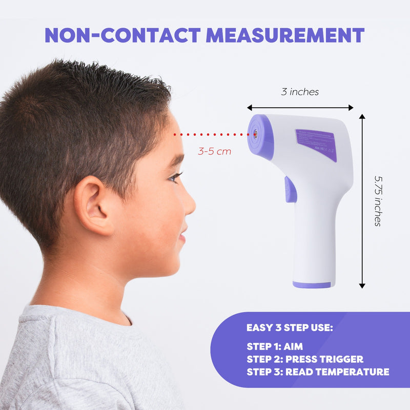 No Touch Infared Forehead Thermometer