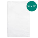 16X27 inch White Microfiber Hand Towel