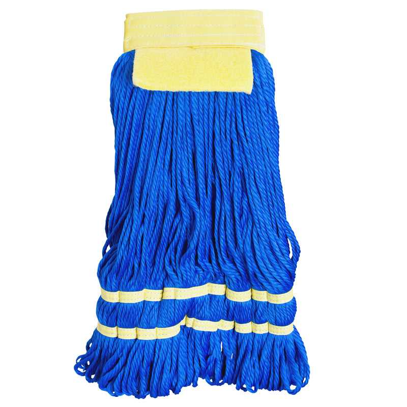 Large Blue Microfiber String Wet Mop