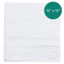 12X12 1lb Wash Cloth Double Cam Border