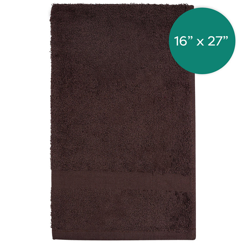 16X27 2.75lbs Brown Hand Towel