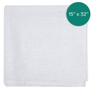 16X32 inch 32 Ounce White Huck Towel