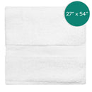 27X54 inch 17 Pounds Dobby Border Bath Towels