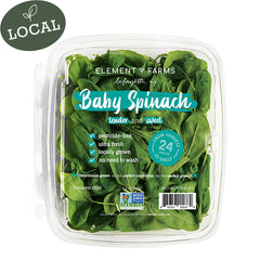 4.5 oz. Baby Spinach in Clamshell