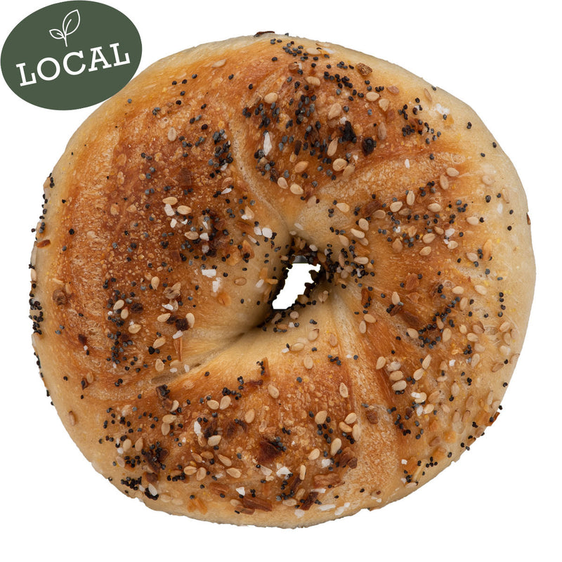 6 Everything Bagels