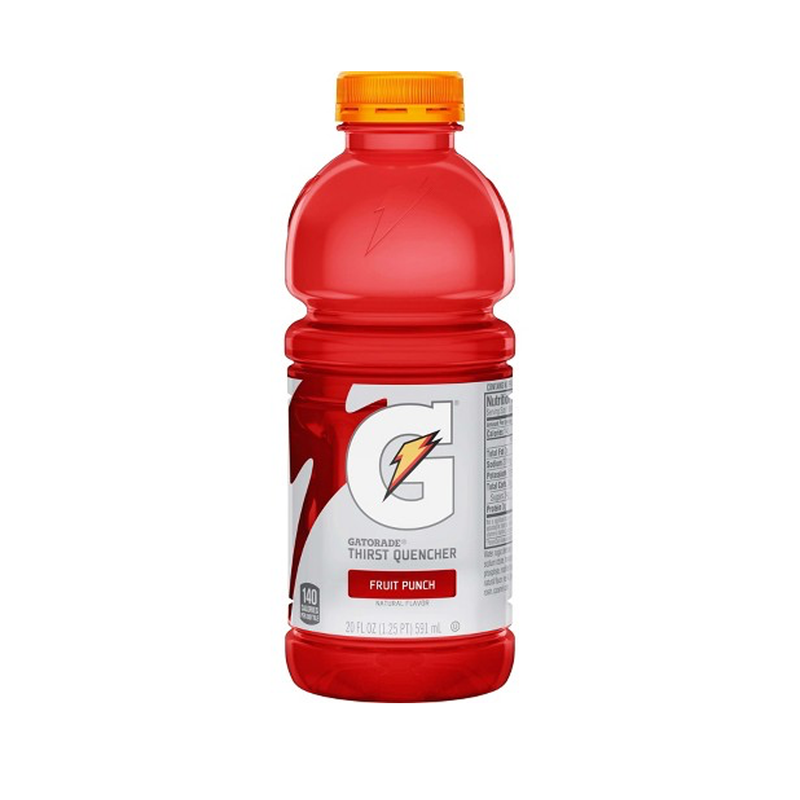 Gatorade - 20 oz bottles - 4 Pack Fruit Punch