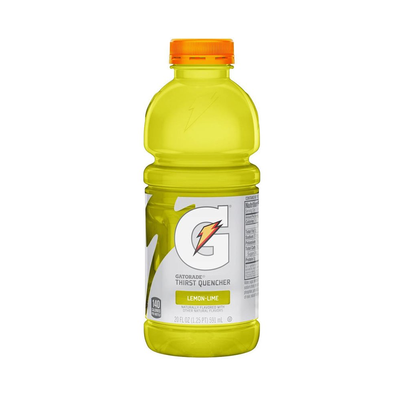 Gatorade - 20 oz bottles - 4 Pack Lemon