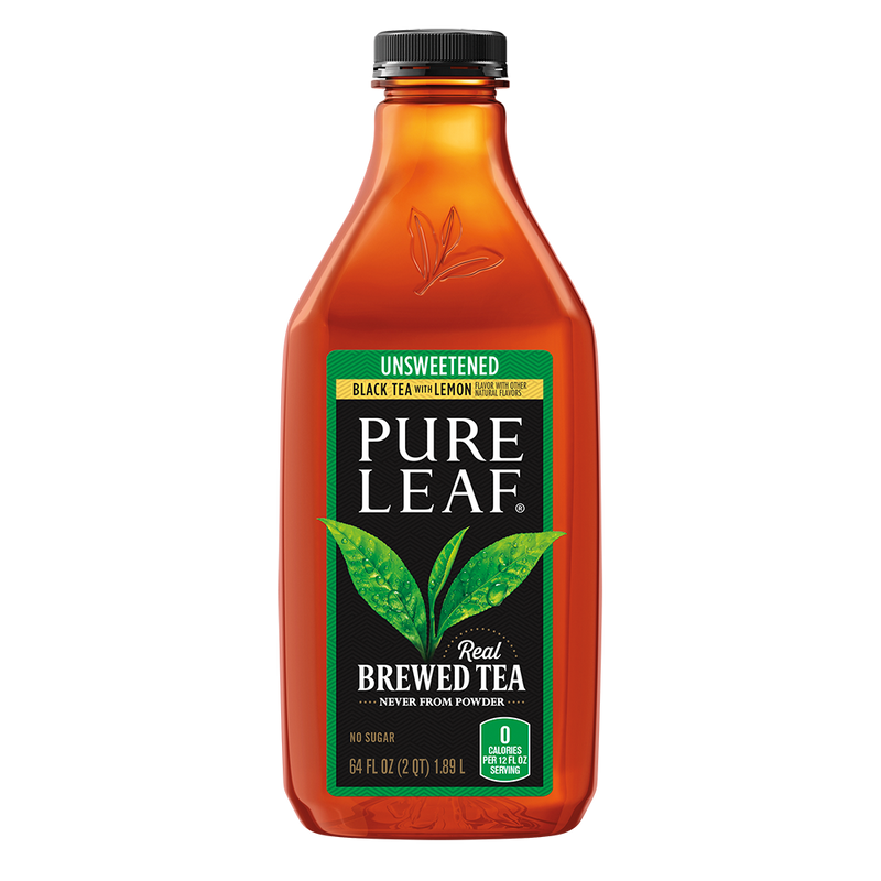 Pure Leaf Lemon Tea - 64 oz Bottle - Unsweetened
