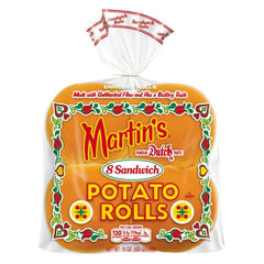 8 Martin's Sandwich Potato Burger Rolls