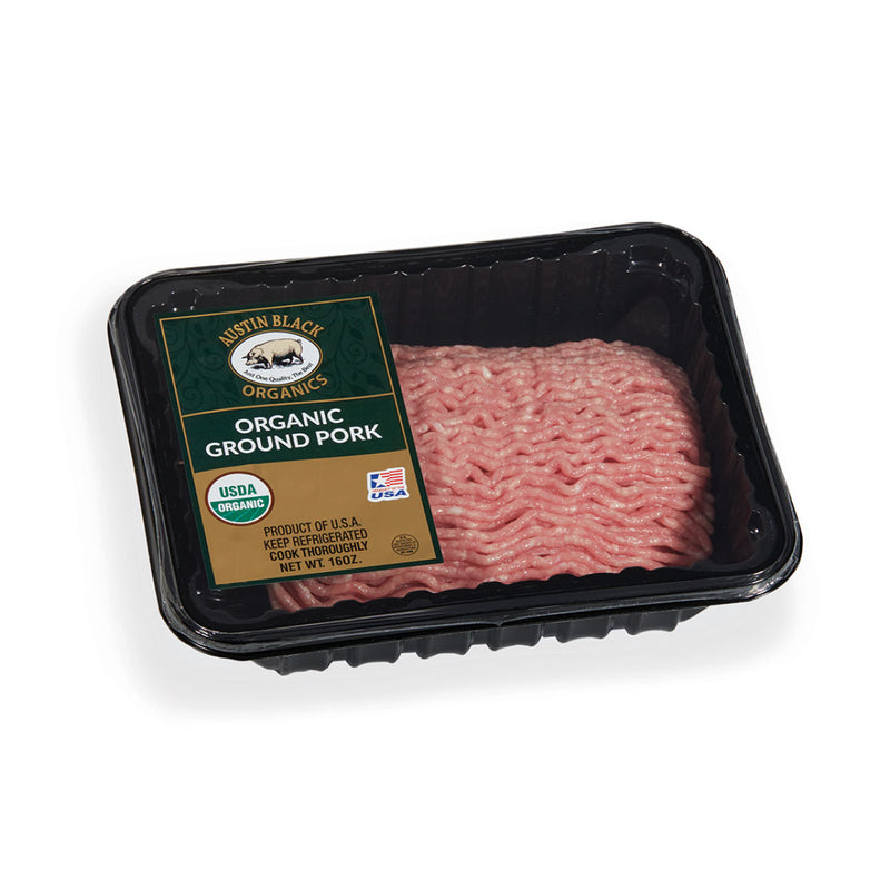 1 lb. Organic Ground Pork