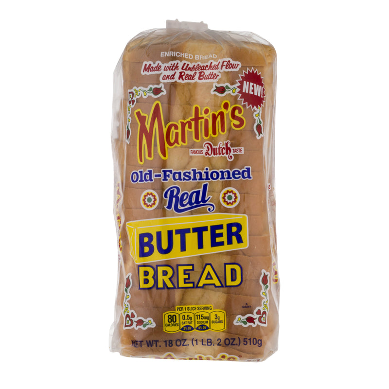 Martins Real Butter Bread (White Bread)