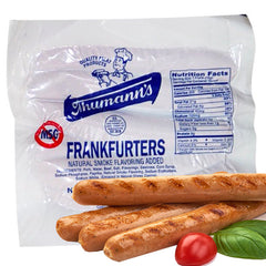 6 Thumann's Natural Casing Hot Dogs