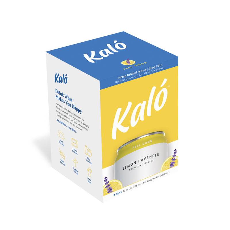 Kaló Lemon Lavender 4 Pack