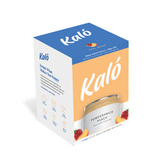 Kaló Pomegranate Peach 4 Pack