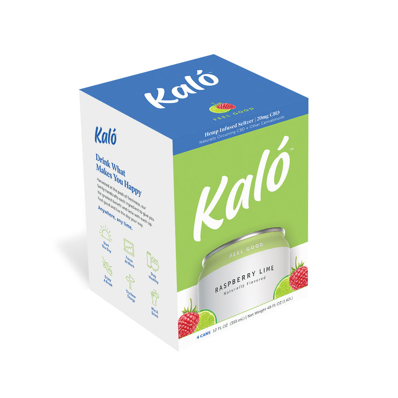 Kaló Raspberry Lime 4 Pack