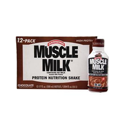 Muscle Milk Protien Nutrition Shake - (12) 14 oz Bottles Chocolate