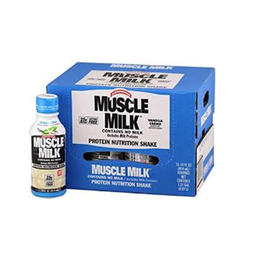 Muscle Milk Protien Nutrition Shake - (12) 14 oz Bottles Vanilla