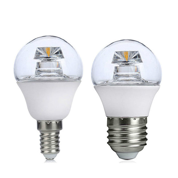 CMC, COB LED Lamp E14 E26/E27 5W 110V 220V Lampada LED Bulb High Luminous Crystal LED Light Pipe Bombillas LED Lighting G45