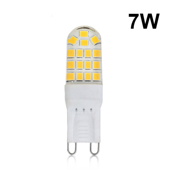 CMC, G9 LED Lamp Smart IC LED Bulb 7W Mini 32LEDs AC 220V 360 Degree Lighting for Home Living Room Chandelier