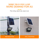 CMC, LED 100W 150W 300W Outdoor Lighting Waterproof Solar Floodlight Bright Remote Control Solar Garden Flood Lamp