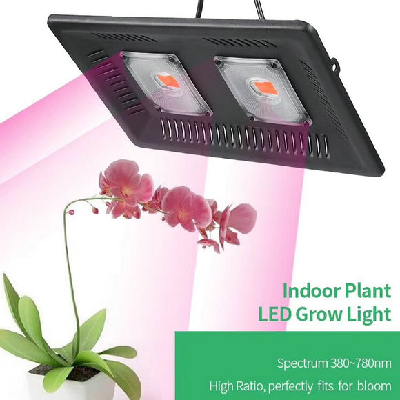 CMC, 100W 200W 300W LED Floodlight Full Spectrum Grow Lamp Indoor Planting Lamp AC110V-220V Greenhouse Hydroponic Grow Light IP67