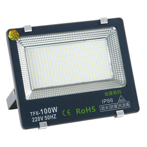 CMC, 100W LED Spot Light 220V Spotlight Outdoor IP65 Waterproof Floodlight Exterior Reflector