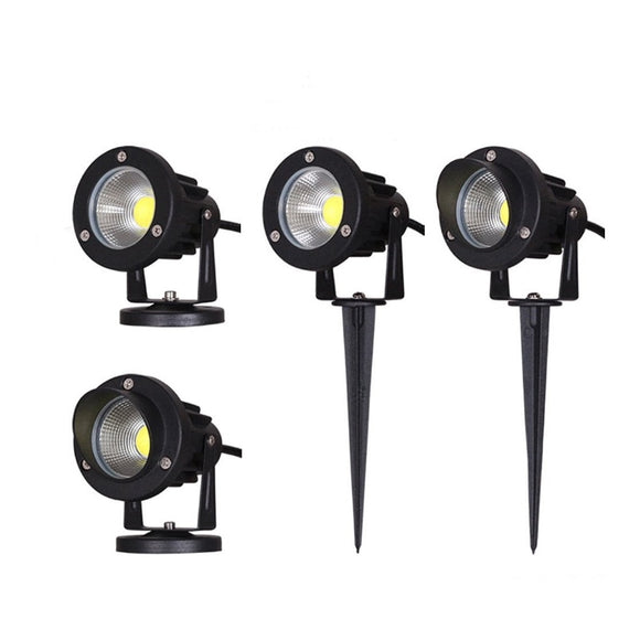 CMC, 12V 220V Outdoor Garden Lamp LED Lawn Light 3W 5W 10W COB LED Spike Lamp Waterproof IP65 Pond Path Landscape Spot Lights Bulbs