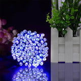 CMC, 22M 200LEDs Solar Powered Fairy Lights Christmas Street Garland LED String Strip Light Outdoor Waterproof for Garden Wedding Lamp