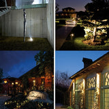 LED, 3W LED Garden Light IP67 Waterproof Aluminum Lawn Light DC12-24V Landscape Lighting Outdoor Grass Spotlight