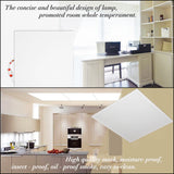 CMC, 70W LED Flat Panel Lighting 600*600 Smart Light Cover for Ceiling Lights 220V Indoor Lamp Pack of 6