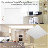 CMC, 6 Sets LED Panel 48W Light 600*600mm 24x24 Inch 4800LM High Brightness SMD2835 Ceiling Light