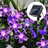 CMC, 7M 50 LED Solar String Light for Garden Decoration Home Christmas Party Flower USB Fairy Light Solar Lamp Outdoor Waterproof