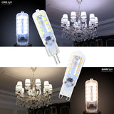 CMC, LED Lamp 3W 5W LED Bulb G9 LED Light Dimmable Ampoule G4 220V Corn Bulb 2835 SMD Chandelier Candle Lighting Replace Halogen Lamp