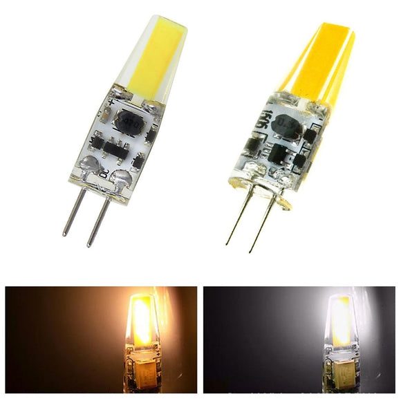 CMC, G4 LED Bulb 12V AC DC Lampada LED Lamp G4 Light 1505 COB Chip Lights Replace 30W Halogen G4 Spotlight Pack of 10