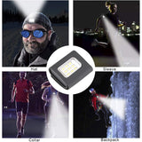 CMC, LED Lamp Waterproof High Light Running Light Headlamp Arm Outdoor Warning Light Cycling Light Safety Night Run Rechargeable