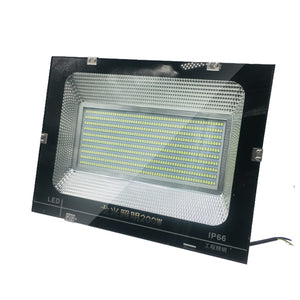 CMC, LED Flood Light 100W 150W 200W IP66 Outdoor Lighting Reflector 170V-265V Spotlight Garden Lamp