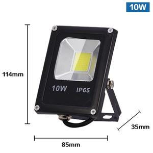 CMC, Motion Sensor LED Flood Light Outdoor Spotlight 220V 10W 30W 50W LED Floodlight IP65 Waterproof Projector Combination Street