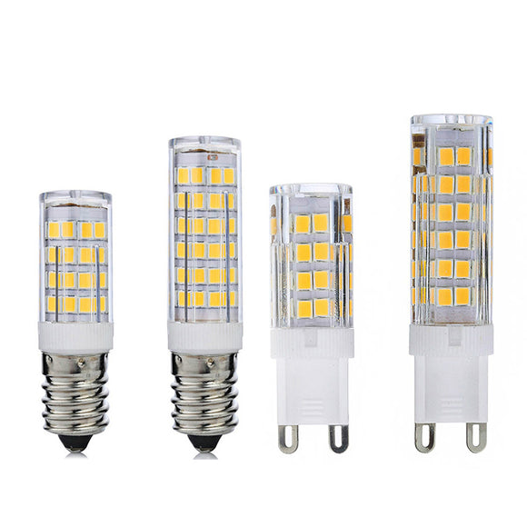 CMC, Mini E14 G9 LED Lamp 5W 7W 220V LED Bulb Corn Light SMD2835 Chandelier Pendant Refrigerator Light Replace Halogen Lamp Ampoule