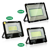 CMC, 100W/300w/500w LED Floodlight IP65 Waterproof Flood Light Outdoor AC220V Spotlight Reflector Spot