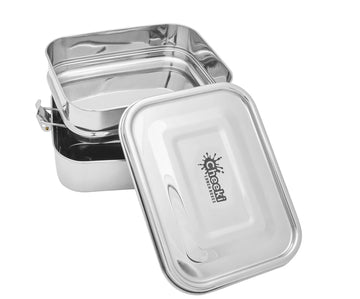 1L Stainless Steel Lunch Box - Double Stacker