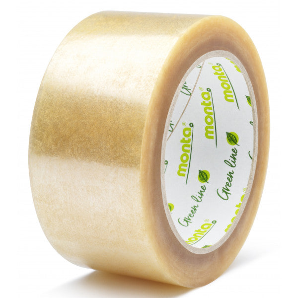 Biodegradable & Compostable Tape 50mm X 80m (2 pack)