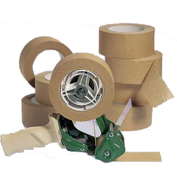 Kraft Paper Packing Tape 48mm X 50m (2 Pack)