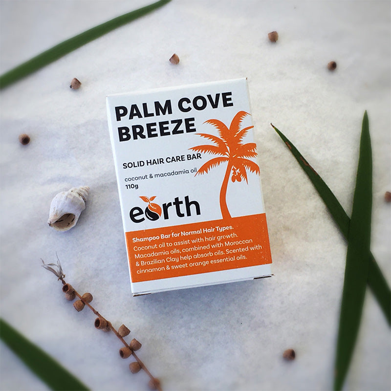 Solid Shampoo Bar - Palm Cove Breeze